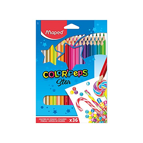 Helix Maped - Lápiceros de colores (36...
