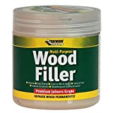 Everbuild EVBMPWFP250 Multi-Purpose Premium Joiners Grade Wood Filler Pine 250 ml, 250ml, Set of 6