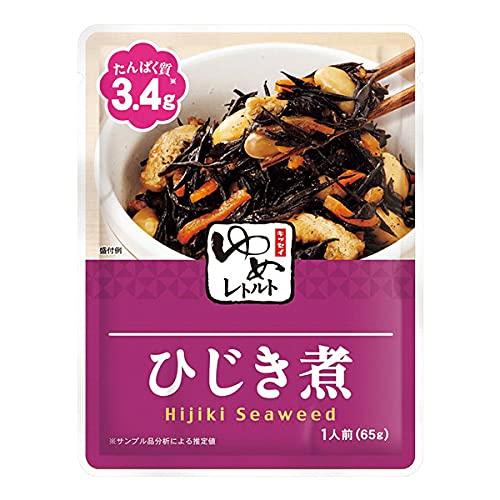 キッセイ 低たんぱく ゆめレトルト ひじき煮65g【たんぱく質・リン・カリウムにも配慮】