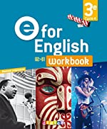 E for English 3e (éd. 2017) - Workbook - version papier de Rupert Morgan