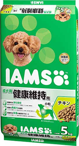 アイムス (IAMS) 成犬用 健康維持用チキン 小粒 5kg [ドッグフード]