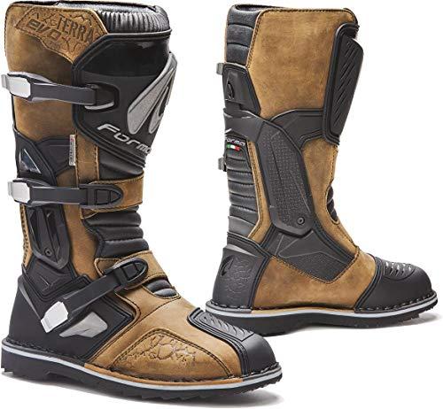Preisvergleich Produktbild Forma Motorradstiefel Terra Evo WP CE Zertifiziert,  Braun