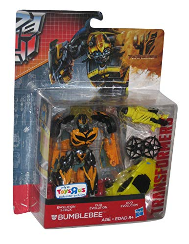 Transformers 4 Age of Extinction Evolution Exclusive Action Figure 2-Pack Bumblebee