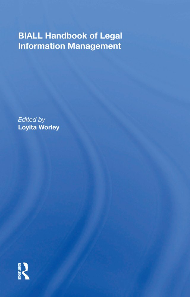 Image OfBIALL Handbook Of Legal Information Management (English Edition)