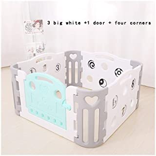 Playpens Baby Playpen Game Indoor Amusement Park Baby Home Safety Toddler Guardrail Toy Fence pens  Size 132X132cm