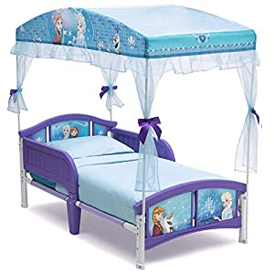 crib bedding and baby bedding delta children canopy toddler bed, disney frozen