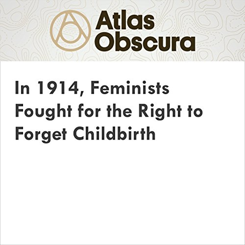 In 1914, Feminists Fought for the Right to Forget Childbirth audiobook cover art