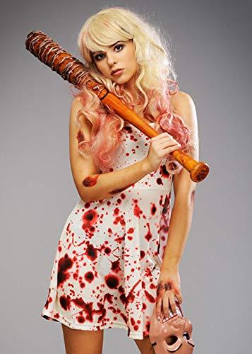 Magic Box Vestido de Halloween para Mujer El Estilo de Purga con Sangre