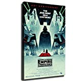 Home Decor Print Oil Painting on Canvas Wall Art Poster Star Wars The Empire Strikes Back 40th Anniversary (No Framed,24x36inch)