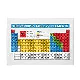 getDigital - Tovaglia periodica per piatti da cucina, per fan di Geek e chimica, 100% cotone