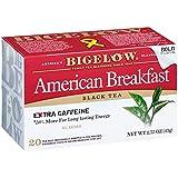 Bigelow American Breakfast Black Tea Bags, 20 Count Box (Pack of 6) Caffeinated Black Tea, 120 Tea...