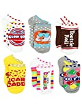 Topps Charms Candy Tootsie Roll Womens 6 pack Socks (Shoe: 4-10 (Sock: 9-11), Charms Candy No Show)