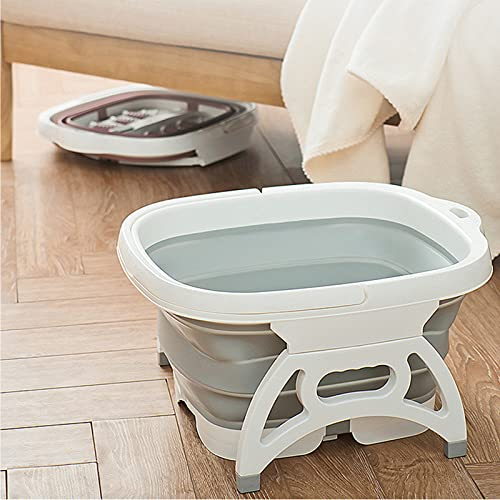 Joyfitness Detox Foot Bath Cell Cleanse SPA Machine Foot SPA Tub Set con Lavabo De Plástico, Home Health SPA Machine Foot SPA Tub 1 Array Care Set