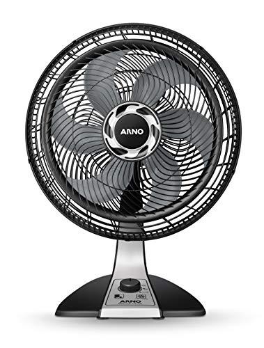 Ventilador 40 cm Silence Force Arno Preto/ Prata 110V