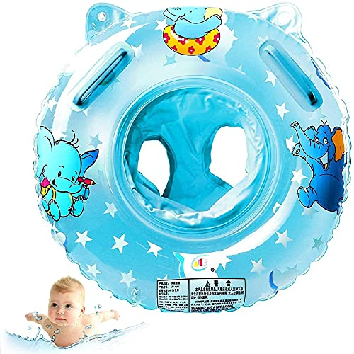 Baby Schwimmring,Schwimmsitz Kinder,Baby Aufblasbarer Schwimmreifen,Schwimmreifen Spielzeug,Pool Baby Schwimmen Ring,Baby Schwimmring Aufblasbarer,Kinder Schwimmhilf (Elefant blau)