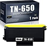 TN-650 Compatible TonerCartridge Replacement forBrother TN-650 Ink Cartridge(Black,High Yield,1-Pack).