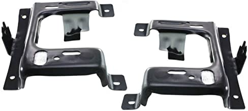 New Steel Chrome Front Bumper Fog Holes For Ford F150 2009-2014 FO1002411
