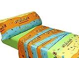 Montse Interiors Juego de sábanas Estampado Infantil Animales (Train, para Cama de 90x190/200)