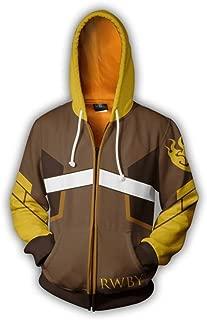 Cosplay Hoodie Costume RWBY Sweatshirt Jacket Christmas Halloween, S-3XL