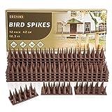 Grovind Bird Spikes Plastic Raccoon Repellent Spikes...