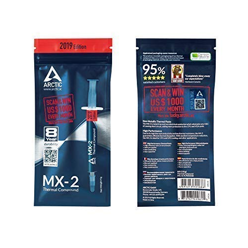 ARCTIC MX-2 2019 Edition 4 g Thermal Paste
