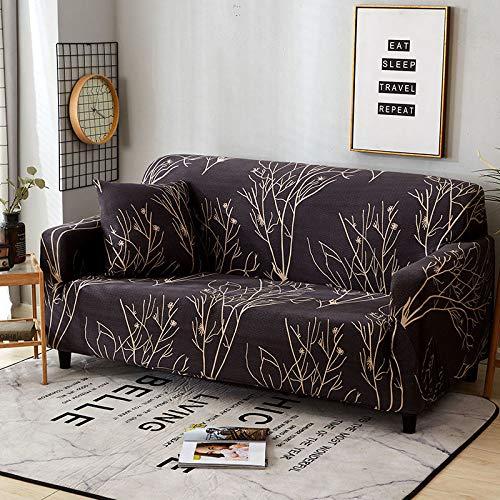 Funda Elástica De Sofá Funda 1/2/3/4 Plazas,Fundas Sofa Chaise Longue/Fundas De Sofá En L/Fundas Sofa Protector Cubierta De Muebles,Color57-1~seat(90~140cm)