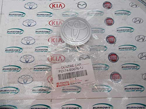 Véritable capuchon central en alliage pour Toyota Corolla PZ474-E0676-1J