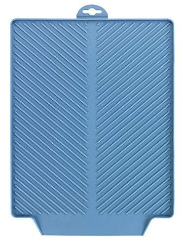 WENKO Abtropfmatte Linea Blau