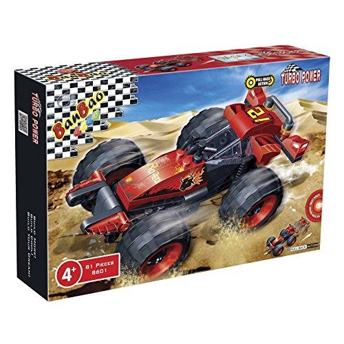 Banbao - 710013 - Jeu De Construction -Voiture Buggy - 23 X15 X 5 Cm - 81 Pièces