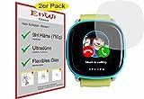 EnWi   2X Panzer-Glas-Folie 9H Bildschirm-Schutz-Folie für XPLORA Kids Smartwatch Handyuhr