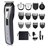 Mens All in One Trimmer, Beard Trimmer Hair Clipper Grooming Kit - Multifunctional