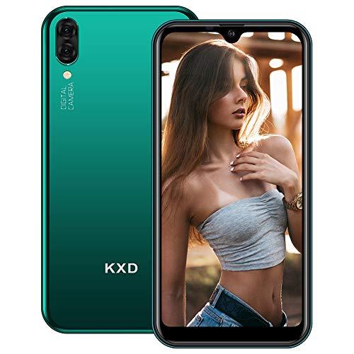 """Smartphone Offerta del Giorno, KXD A1 Cellulare Economici Android 8.1,5.71""""IPS Display,128GB Espandibili,Dual Fotocamera,Tre Slot Per Schede,Dual SIM,Face ID,2520mAh Batteria Cellulari Offerte-Verde"""