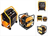 Bostitch RC10SQ-E - Compresor para obras (9,4 L, 1,5 CV, 13,78 bar, 230 V, extremadamente silencioso, manguera de aire comprimido CPACK30, 30 m, con rebobinador)