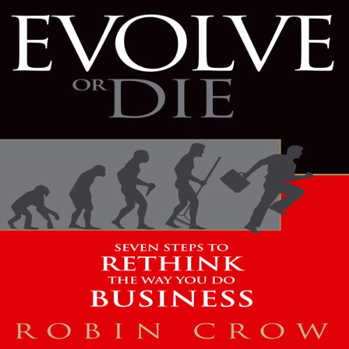 Evolve or Die audiobook cover art