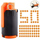 ALLESOK 1Pack Granate Spielzeug Handgranate Wasserbomben Spiel mit 50St. Nachfüllung Bälle für...