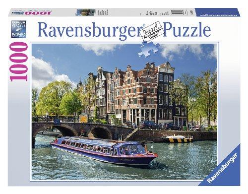 Ravensburger 191383 Puzzel Rondvaart Door Amsterdam - Legpuzzel - 1000 Stukjes