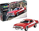 Revell Revell-1976 Maqueta 1976 Ford Torino, Kit Modelo, Escala 1:25 (7038)(07038), Color Rojo, 22,1 cm de Largo