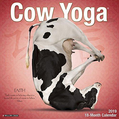 Cow Yoga 2019 Wall Calendar
