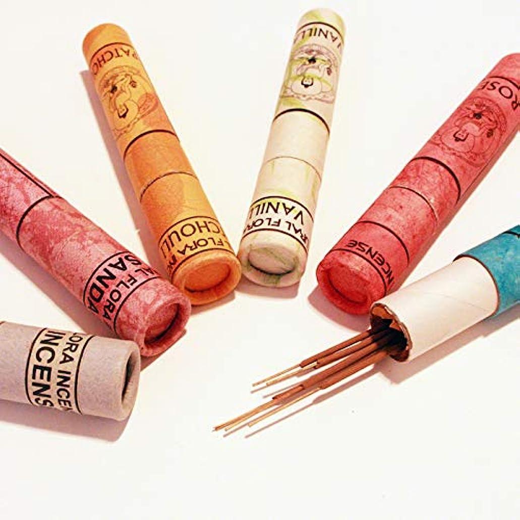 先見の明適合する自治高級インド雑貨カオス ナチュラル インセンス スティックタイプ 40本入 お香立てつき (オピウム)