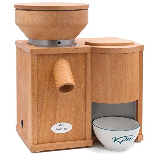 KoMo Duett 100 Kombigerät (360 Watt Getreidemühle/Elektroflocker)