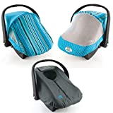 Cozy Combo Pack - Blue Sun & Bug Cover & Lightweight Cozy Cover