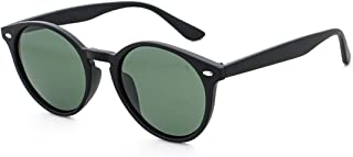 Polarized Round Vintage Sunglasses for Men for Women-Circle Sunglasses for Teens - Eyewear for Driving UV 400 Protection