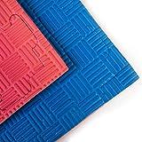 YariNoHanzo Tatami Bicolore | 10 m2 | Tatami ad Incastro | Puzzle Spessore: 2 cm | Karate, Judo, Taekwondo, Kick Boxing, MMA, Brazilian Jiu Jitsu | New Version