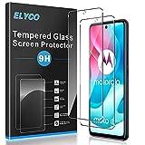 ELYCO [2 Stück] Panzerglas Schutzfolie für Motorola Moto G60s, 9H Festigkeit Gehärtetes Glas Panzerglasfolie Bläschenfrei Anti-Öl/Anti-Kratzer/Anti-Fall Bildschirmschutzfolie für Motorola Moto G60s