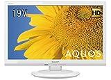 シャープ 19V型 AQUOS 液晶テレビ 2T-C19