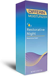 Differin Restorative Night Moisturizer, 1 Pack, 2.5 fl oz