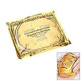 10 er Set - Golden Face Collagen Gesichtsmaske mit Q10 und Hyaluronsäure!!! Beste Qualität von Schlupflid weg