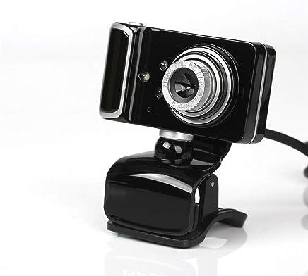 QLPP Webcam HD 480p, Fotocamera da 16 MP USB per Laptop Desktop, Mini Plug e Play Videocamera per videochiamate, Microfono Incorporato, 3 luci a LED, Clip Girevole Flessibile,C - Trova i prezzi più bassi