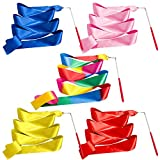 Whaline - Cinta de gimnasia rítmica para niños, 5 Multicolor