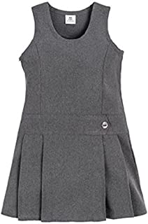 grey pinafore dress school